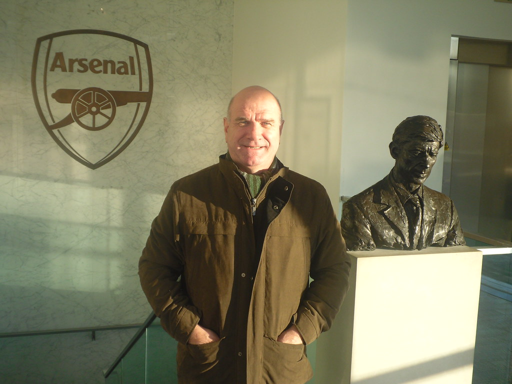 Emirates Stadium Tour Guide Legends Tour Guide Eddie Kelly at The Emirates Stadium