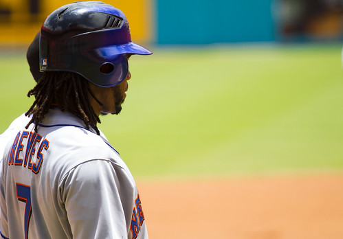 Jose Reyes takes in the action | by Michael G. Baron