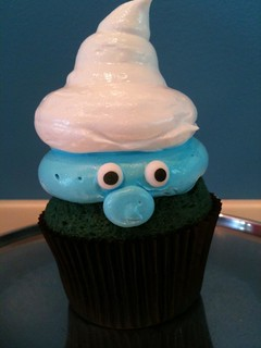 Smurfs | by Heavenly Cupcake Shop