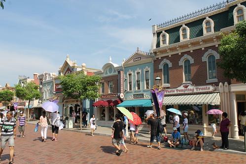 Main Street USA at Hong Kong Disneyland