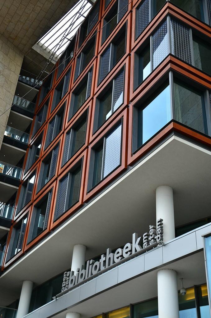 Bibliotheek amsterdam oosterdokskade 143 1011 dl amsterda for Bibliotheek amsterdam