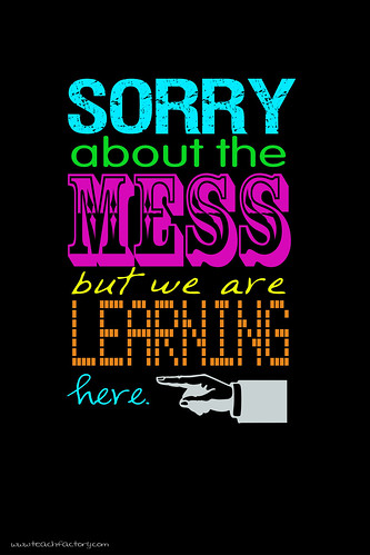 Classroom Sign: The Mess | by venspired