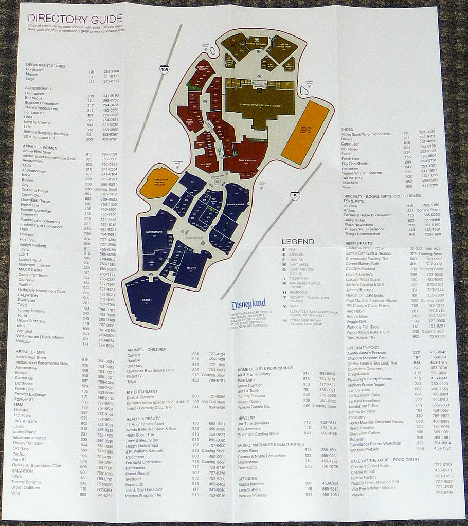 Irvine Spectrum Map Irvine Spectrum Center Map | David Valenzuela | Flickr Irvine Spectrum Map