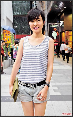 apple daily hk central - pretty girls