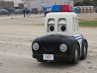 rocky - morro bay police department robot car - relay for life | by minicooper93402