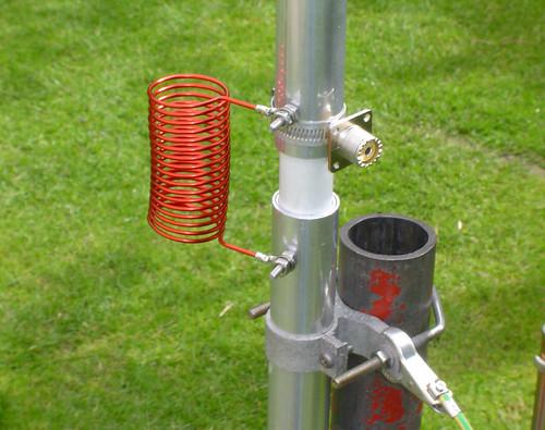 Butternut 80 40 hf vertical antenna pwllgwyngyll flickr for Wohnlandschaft 2 80 m