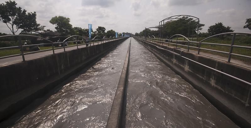 溪州鄉大庄村,莿仔埤圳的水源頭