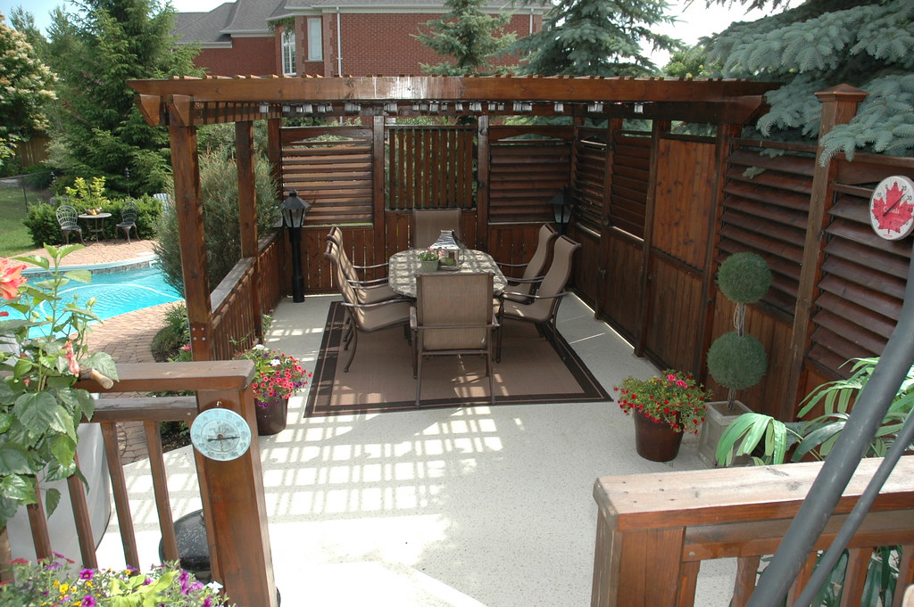 Deck design japanese style for Patio plans and designs
