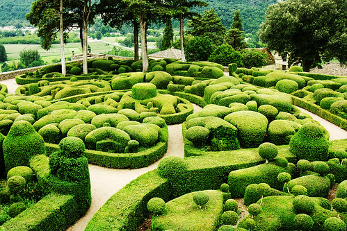 Jardins suspendus de marqueyssac platanax flickr - Jardins suspendus de marqueyssac ...