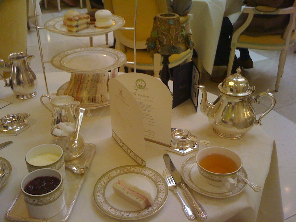 Tea at The Ritz London