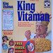 1991 Quaker King Vitaman Cereal Box