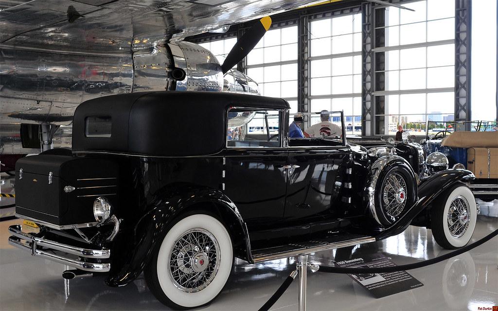 1930 Duesenberg Model Sj Murphy Town Car Black Rvr