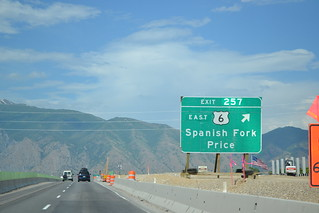 northbound I-15 / eastbound US-6 at US-6 – exit 257 | by CountyLemonade