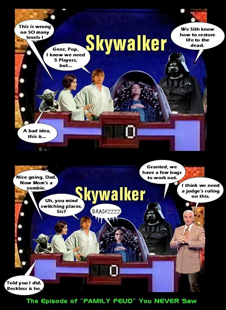 Star Wars The Skywalker Family S Non Appearance On Quot Fa