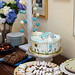 Gabby's baby shower - dessert table