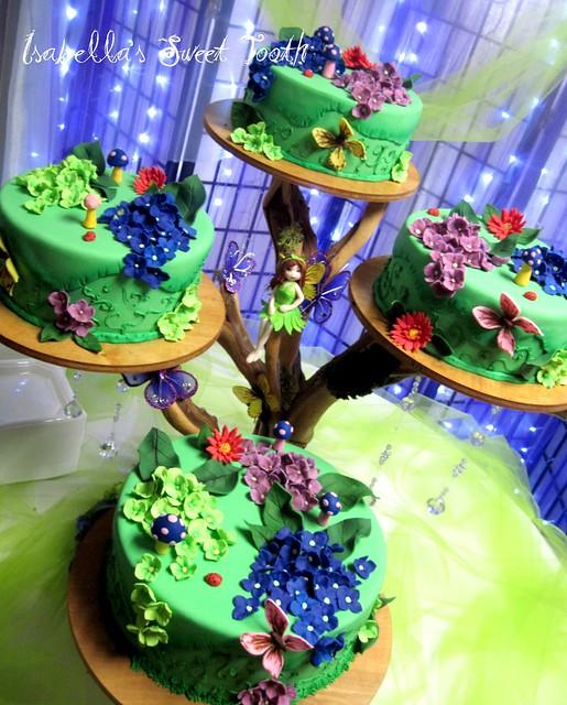 Cake Art Jeddah : daisys fairy cake Flickr - Photo Sharing!