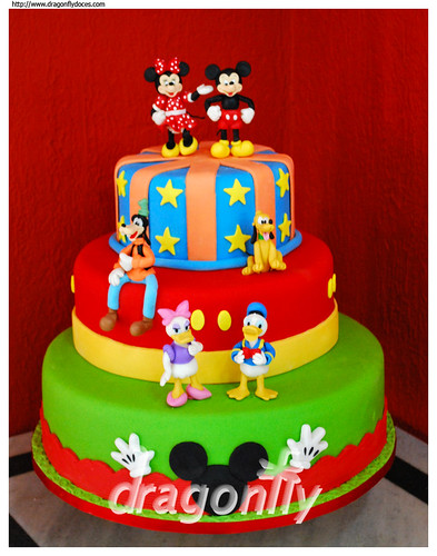 Mickey Gang Cake - Bolo da Turma do Mickey | by Dragonfly Doces