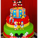 Mickey Gang Cake - Bolo da Turma do Mickey