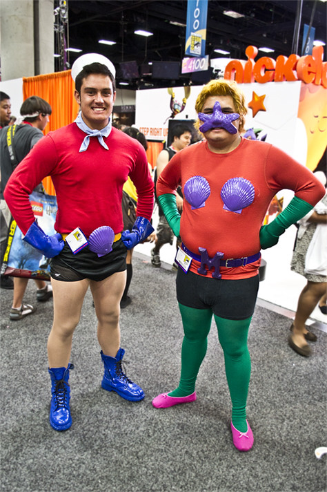... SDCC u002711 - Mermaid Man and Barnacle Boy | by Adrian Marquez  sc 1 st  Flickr & SDCC u002711 - Mermaid Man and Barnacle Boy | I really wish thesu2026 | Flickr