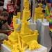 User created models at the LEGO booth - San Diego Comic Con - 7