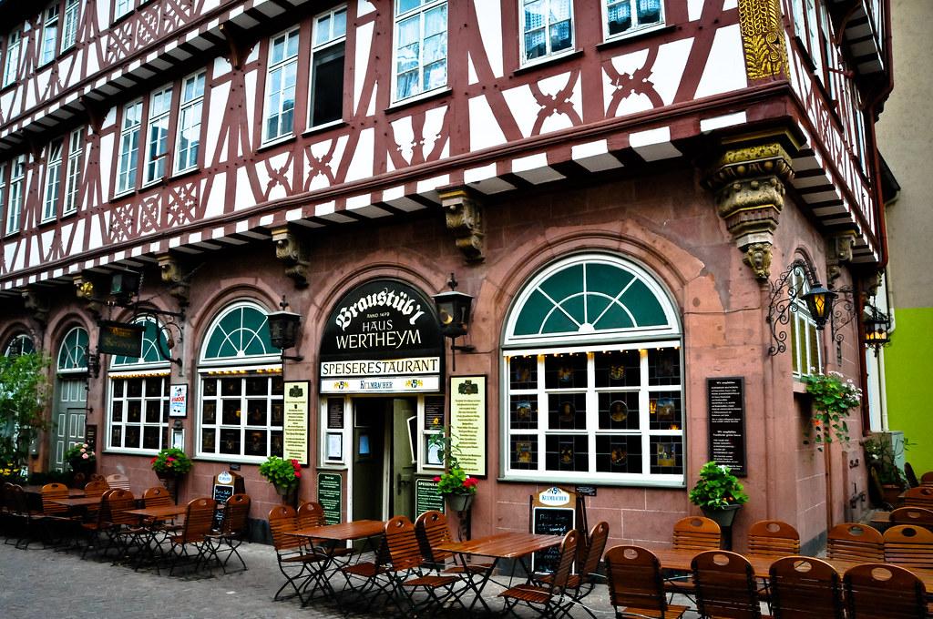braust bl haus wertheym restaurant in frankfurt germany flickr. Black Bedroom Furniture Sets. Home Design Ideas