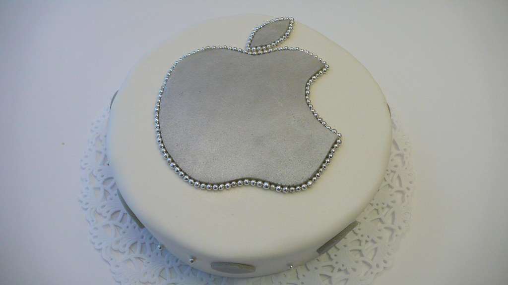 Apple Logo Cake Apple Logo Birthday Cake Www