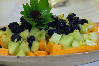 Fruit Salad With Ginger Lime Syrup | by Indiana Public Media