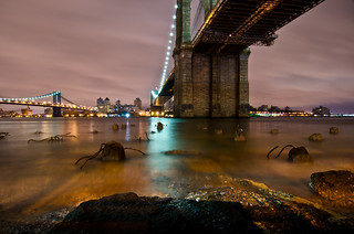 Underneath The Brooklyn Bridge. (Explore #18 - August 7th, 2011) | by Rares M. Dutu