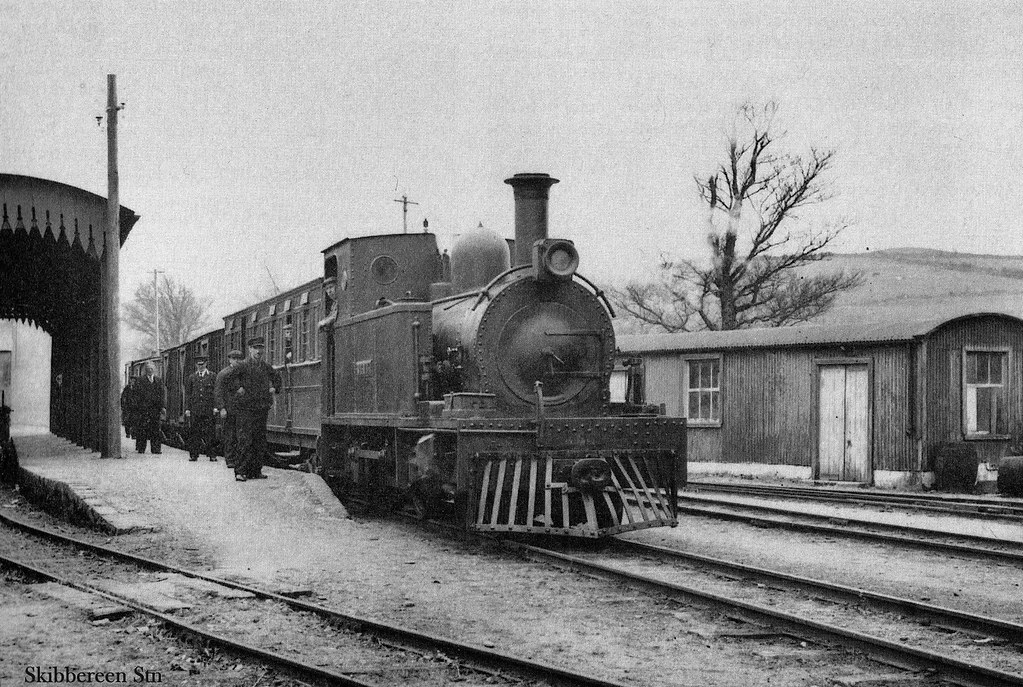 Skibbereen Station Author Unknown The Train Reversed