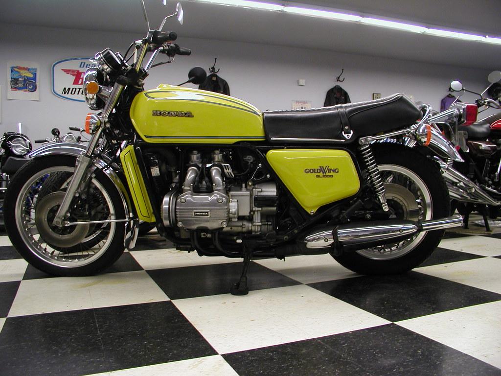 Wing Gold >> 1976 Honda GL 1000 Goldwing For Sale | 1976 Honda GL 1000 ...