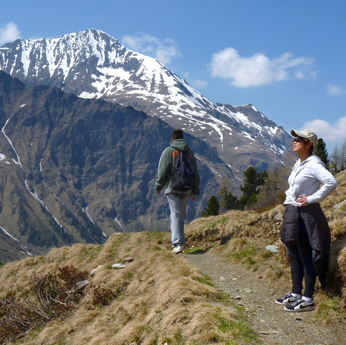 Kanitha enjoys the vista in Hohe Tauern National Park | by B℮n