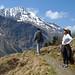 Kanitha enjoys the vista in Hohe Tauern National Park