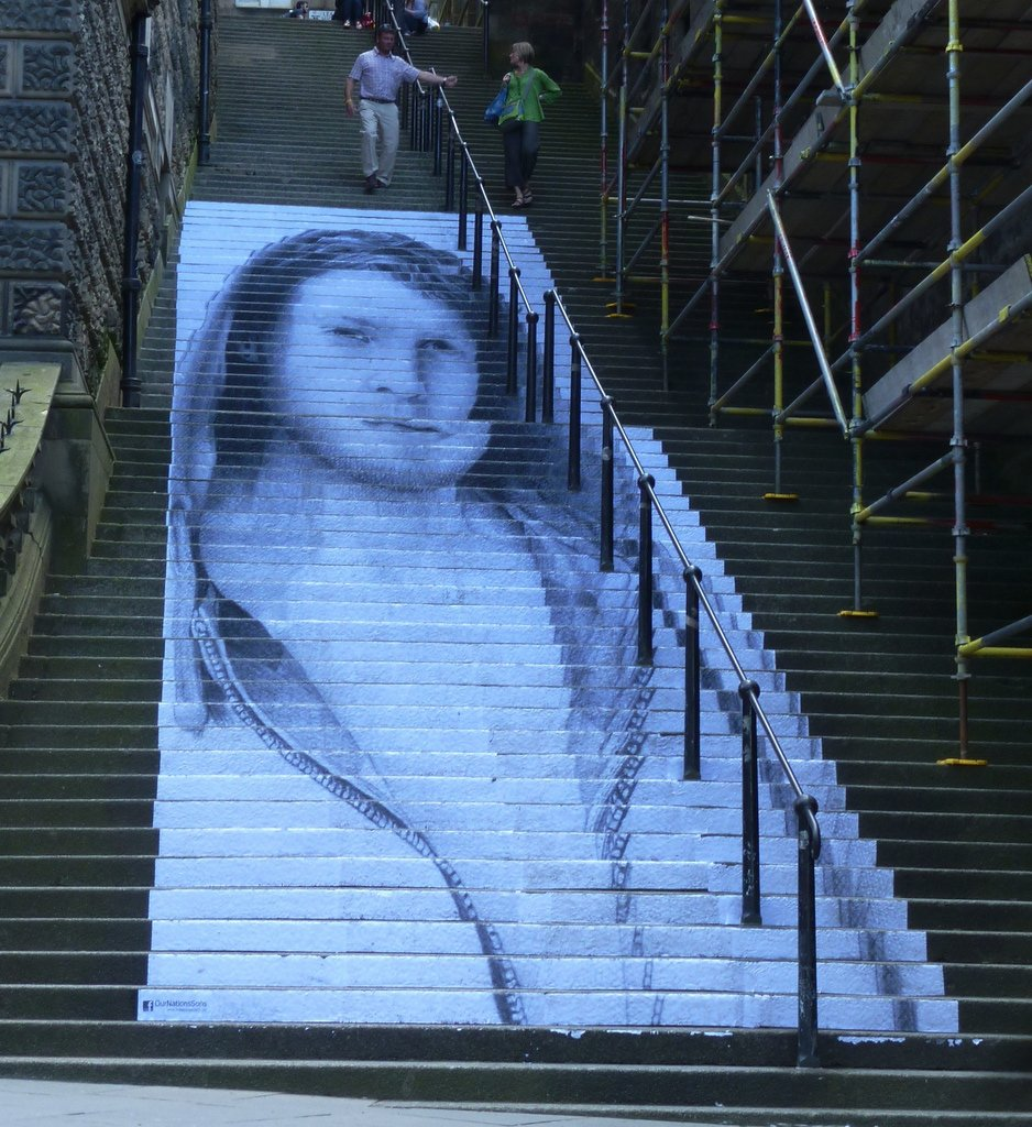 ... STAIR ART | By DOUG ST ALLAN