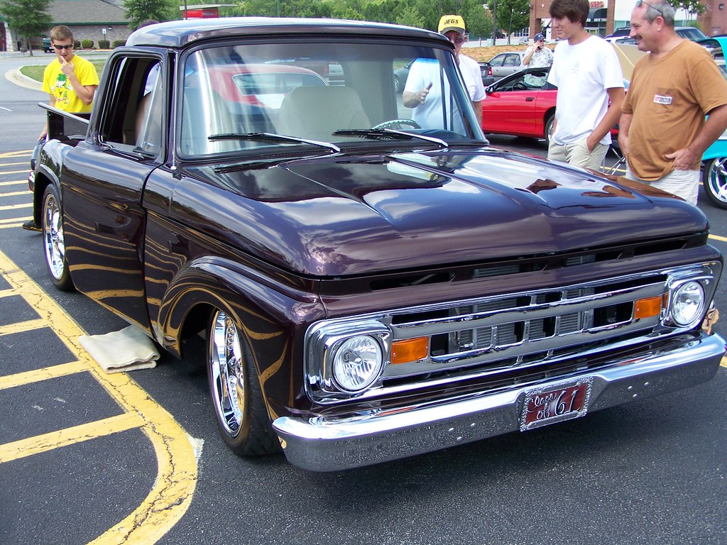 1961 Ford F100 See At Car Show In Dawnsonville Ga July 16 Pete Pick Up By Classicfordz