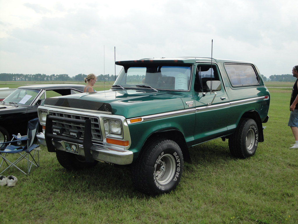 The New Ford Bronco >> 1979 Ford Bronco | Benson Kids and Cars July 2011 Car Show | Greg Gjerdingen | Flickr