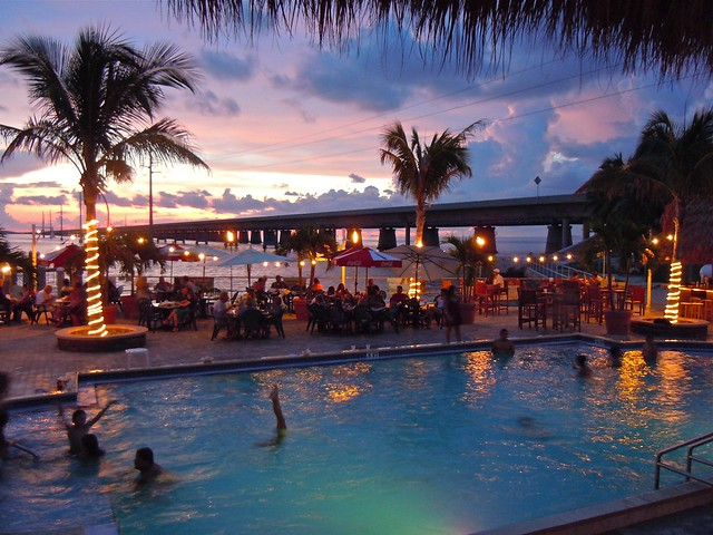 Sunset Grille and the Seven Mile Bridge | Flickr - Photo ...