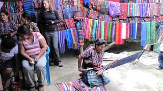 Weaving at Ruth & Naomi