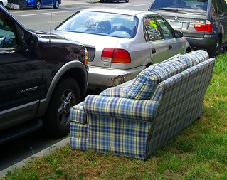 Sofa Free Plaid | by walknboston
