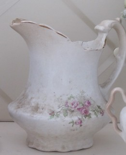 ~Vintage Floral Pitcher~ | by ~Romantic~Vintage Home~