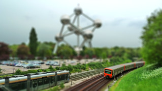 Atomium Tiltshift | by A.Currell