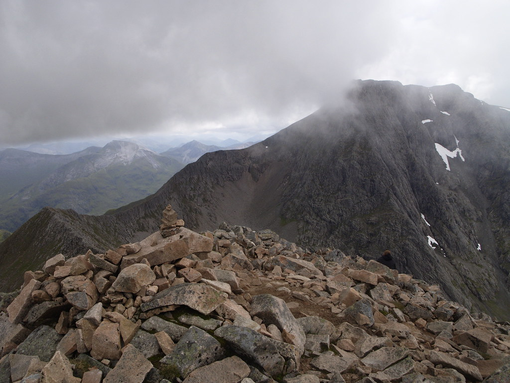 Edge Cmd Arete And Ben Nevis From Carn Mor Dearg Multi