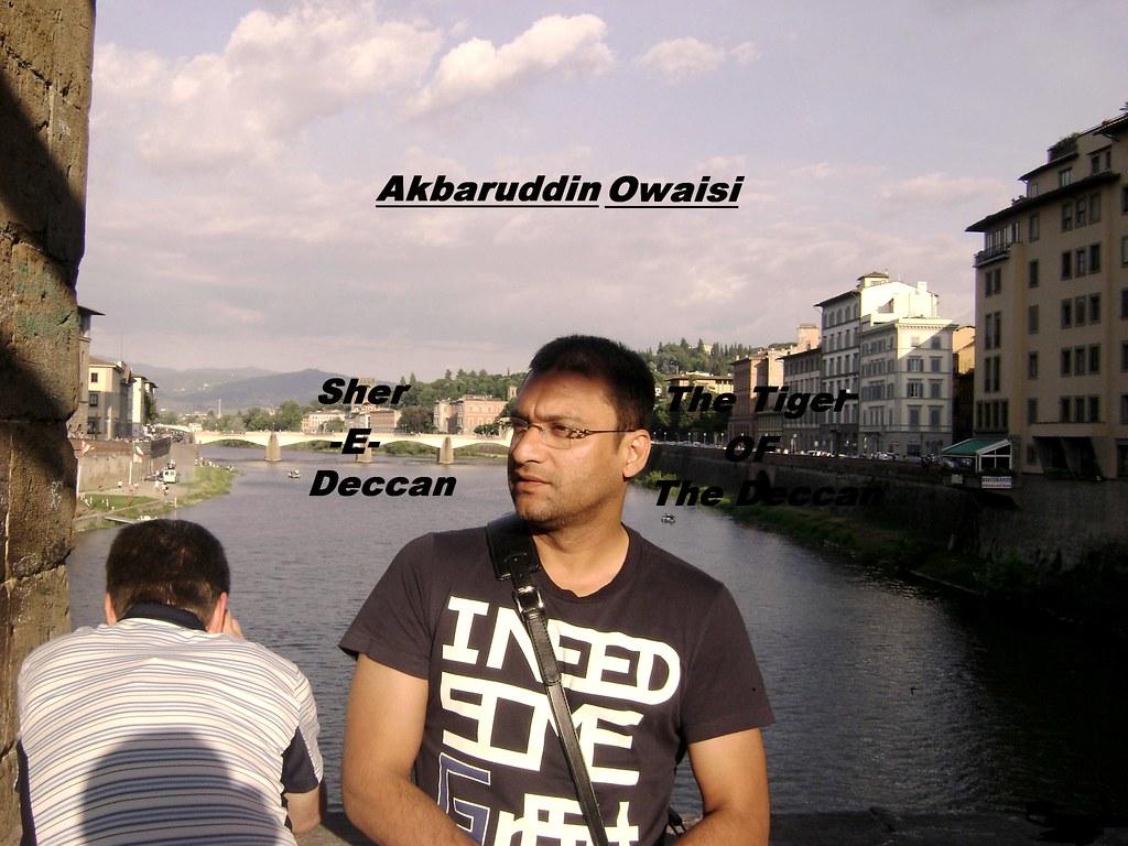 Mim Floor Leader Akbaruddin Owaisi In Italy Mim Floor