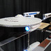 San Diego Comic-Con 2011 - Starship Enterprise light-up scale model (Quantum Mechanix booth)