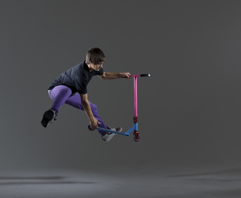 Scooter trick