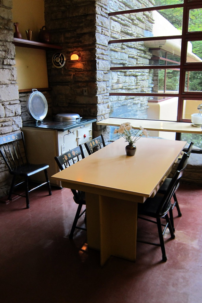 Pa Mill Run Fallingwater Kitchen Modern For Its Day