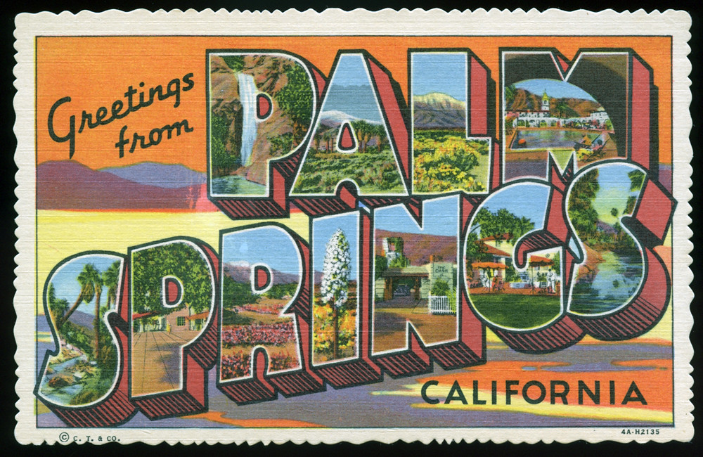 Greetings from palm springs california large letter pos flickr greetings from palm springs california large letter postcard by shook photos m4hsunfo