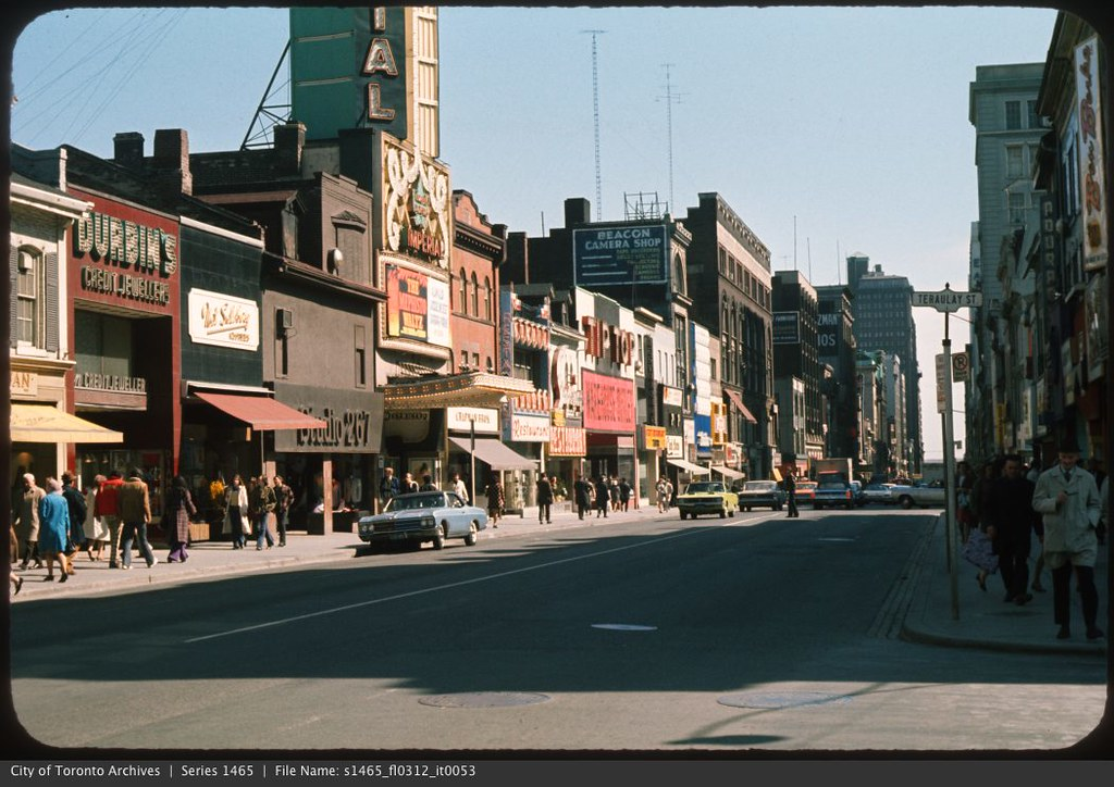 Imperial Theatre Yonge Street Photographer City Of