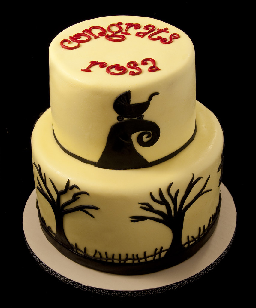 ... Nightmare Before Baby Shower Cake | By Jennywenny
