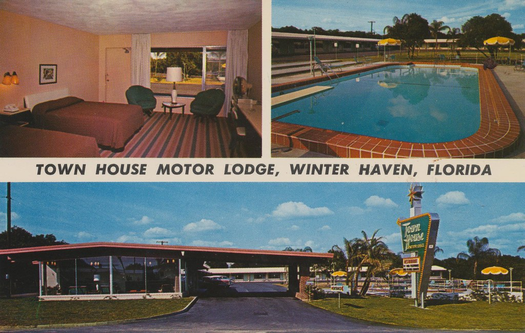 The cardboard america motel archive town house motor for Town house motor inn