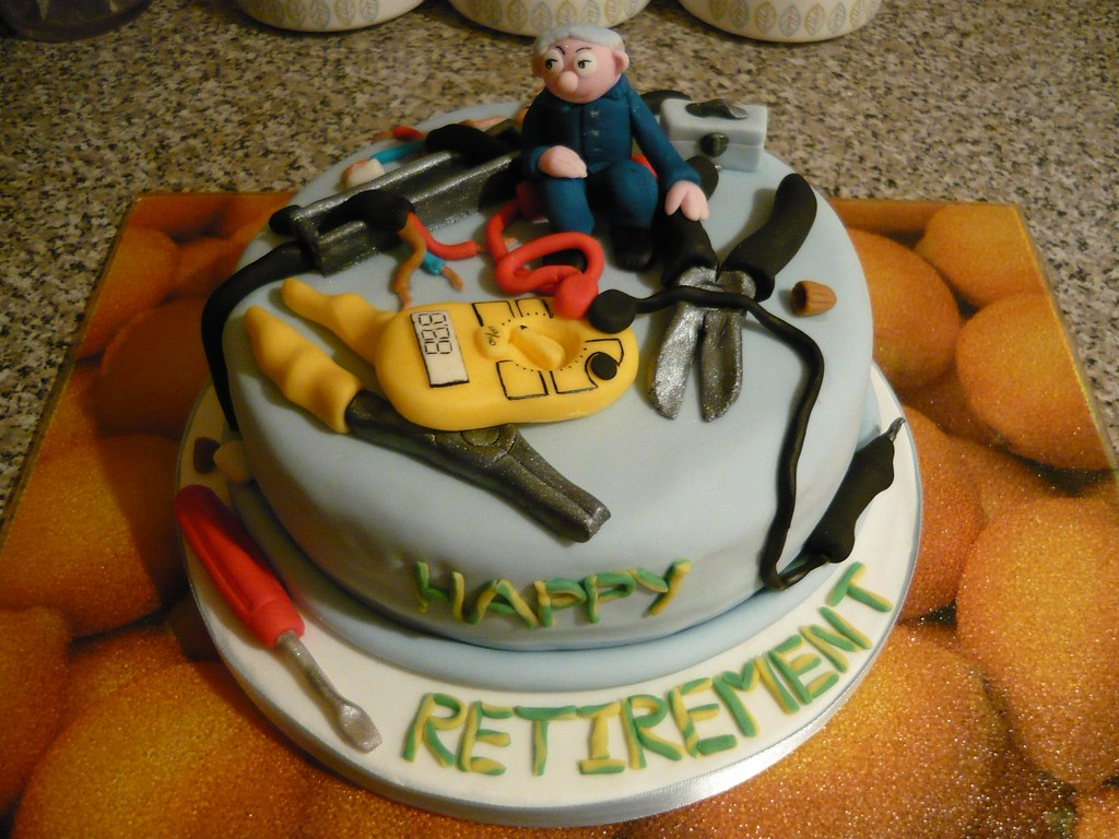 12 Electrician Retirement Cake - Apr 25 2011 1.1 | This ...
